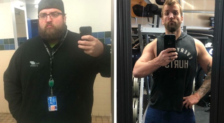 Dimagrisce più di 90 Kg dopo che il medico lo ha avvertito sui rischi del diabete: