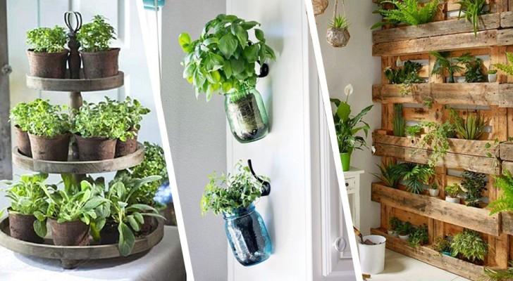 Erbe aromatiche in casa: qualche idea per decorarci la cucina e averle sempre a disposizione
