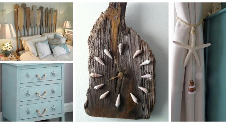 Saveur de mer : décorez et meublez avec ces splendides idées qui s'inspirent de la plage