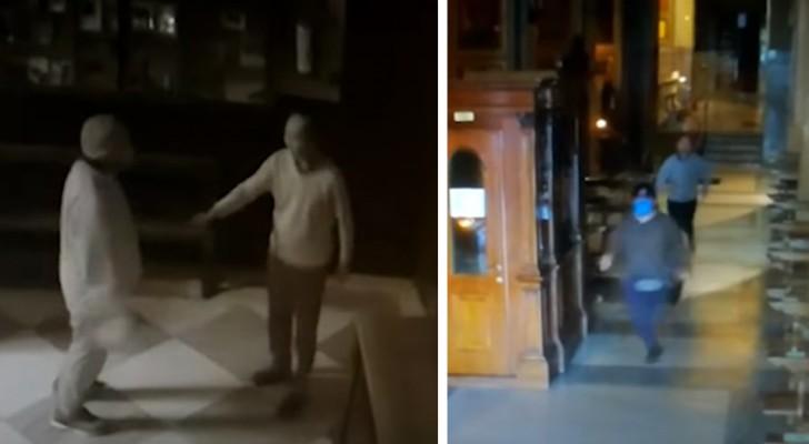 Tenta di rubare i soldi delle offerte in chiesa, ma il prete corre più di lui e lo fa arrestare