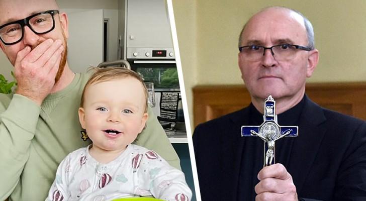Appelez l'exorciste : cet enfant a appris à dire maman d'une manière