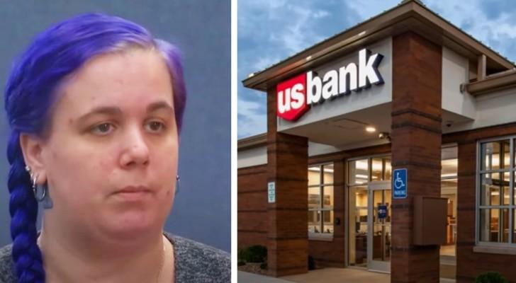 Bankmedewerkster wordt ter plaatse ontslagen omdat ze een cliënt in moeilijkheden heeft geholpen