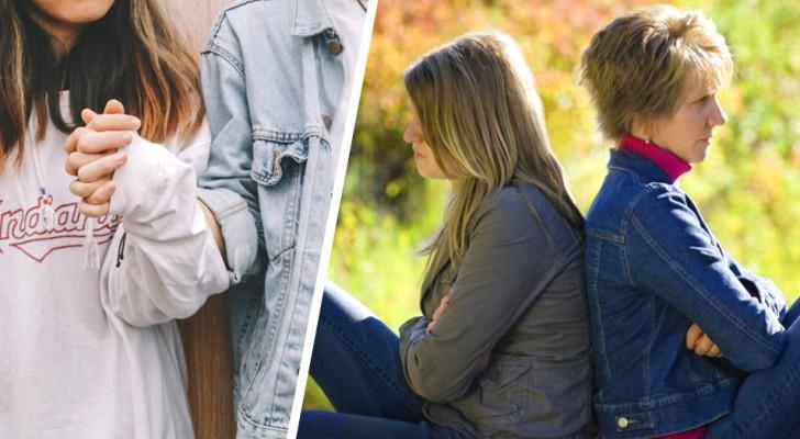 A mãe impede a filha adulta de dormir com o namorado quando eles a visitam: