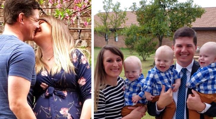 Desidera tanto avere un figlio ma va in menopausa a 30 anni: alla fine partorisce tre gemellini