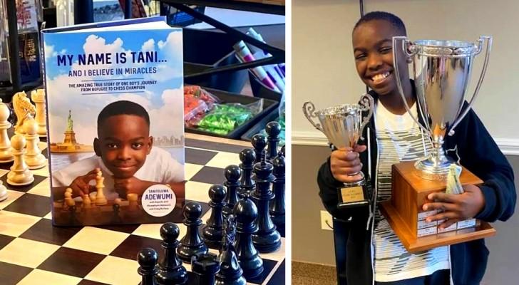 Viveva con la sua famiglia in un rifugio per senzatetto, oggi è un Maestro di scacchi a soli 10 anni