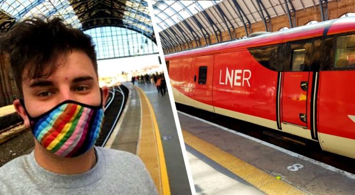 Britische Bahn entfernt Damen und Herren nach Protesten von Fahrgästen