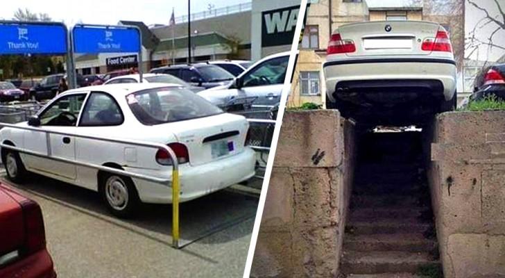 Mais comment vous êtes-vous garé ? : 18 personnes qui ont laissé leur voiture dans les endroits les plus absurdes