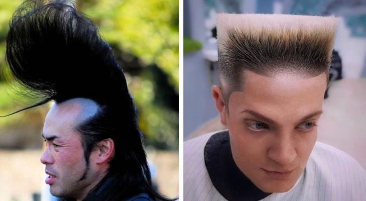 15 Menschen, die mit gewagten Haarschnitten die Grenzen des guten Geschmacks überschritten haben