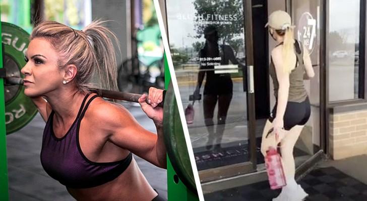 Getinte ramen en beperkte toegang: deze sportschool alleen voor vrouwen is het internet rondgegaan
