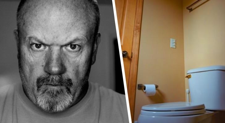 Il passe un jour par semaine dans les toilettes : une entreprise se plaint du temps qu'un employé passe aux WC