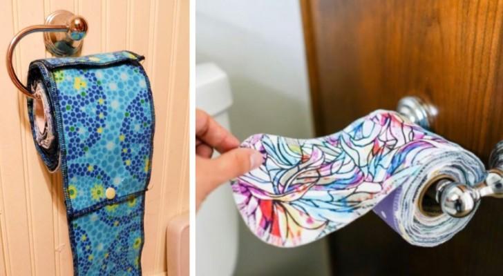 Waschbares und wiederverwendbares Toilettenpapier kommt: eine ökologische Erfindung, die die Meinungen spaltet