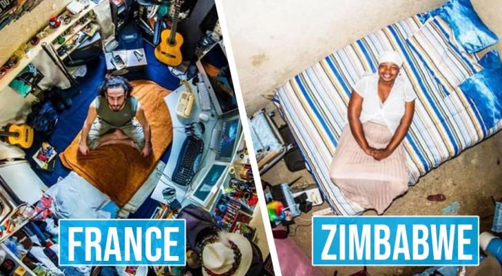 Un fotografo ha immortalato le camere da letto di tutto il mondo: le differenze sono affascinanti