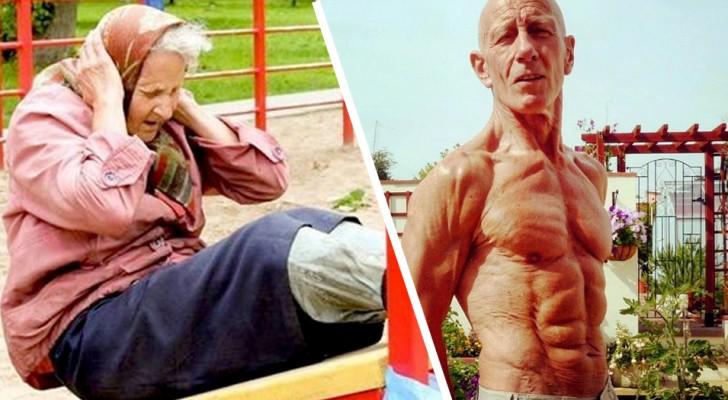 16 äldre människor fulla av energi som inte på något sätt känner av sin ålder