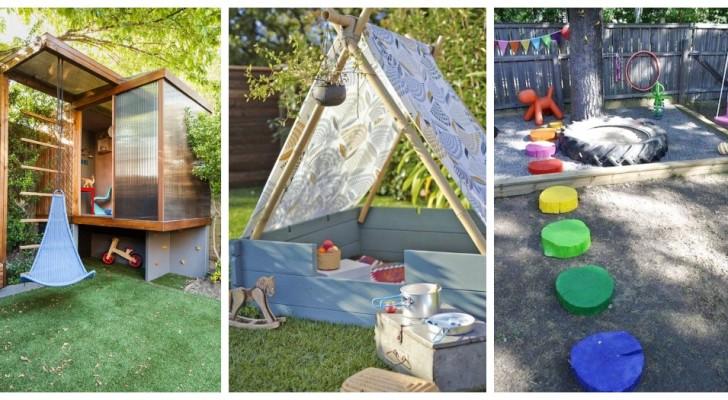 Aire de jeux dans le jardin : découvrez comment en créer une pour que les enfants s'amusent