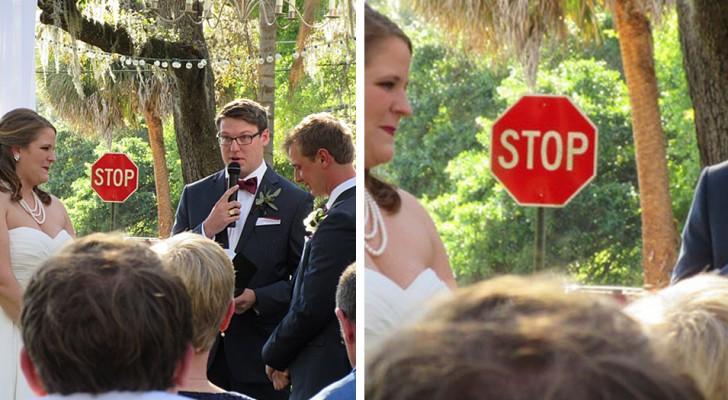 17 denkwürdige Hochzeitsfotos, bei denen der Hintergrund dem Brautpaar die Show stiehlt