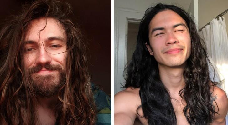 Le charme des cheveux longs : 15 hommes ont laissé pousser leurs cheveux et ont fait le bon choix