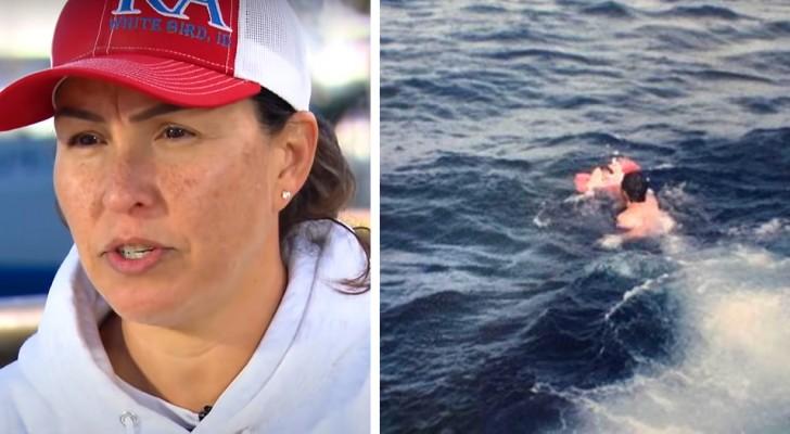 Einzige Überlebende eines Unfalls im Meer schließt nach 35 Jahren wieder die Fischer in die Arme, die sie gerettet hatten