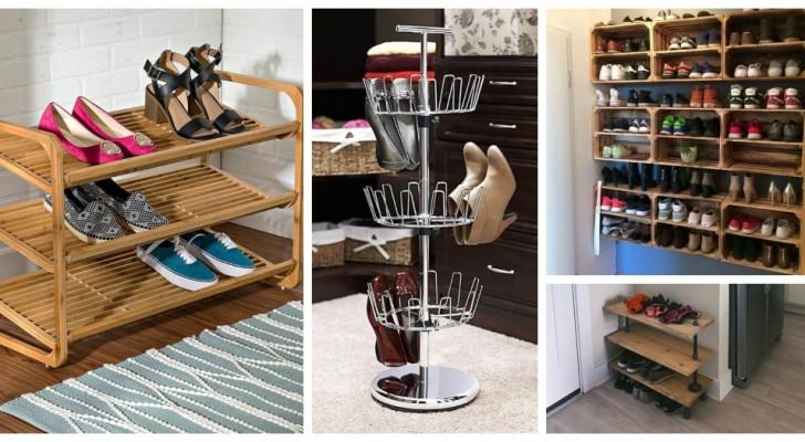 Plus de chaussures qui trainent par terre : choisissez l'étagère à chaussures la plus adaptée à vos exigences