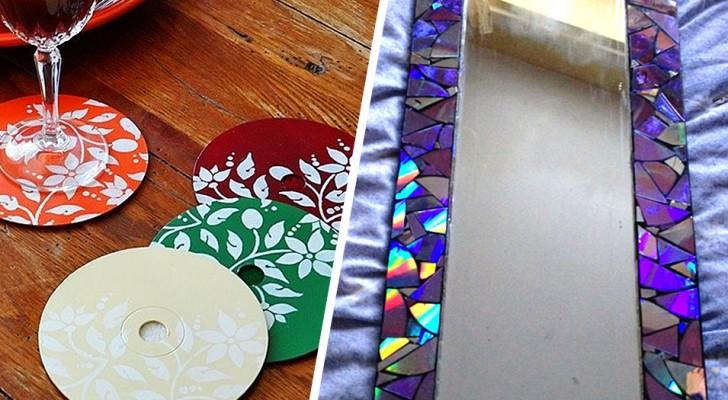 Vecchi CD: 7 modi per riutilizzarli in modo creativo ed originale