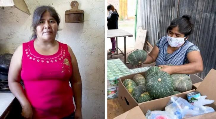 Esta mujer ha transformado su comedor en un merendero para niños pobres de su ciudad