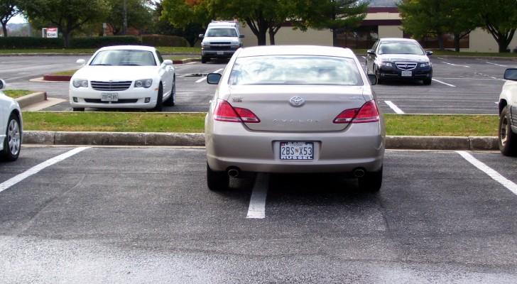 Sie parkt ihr Auto im Halteverbot und behindert die Bauarbeiten: Sie rächen sich