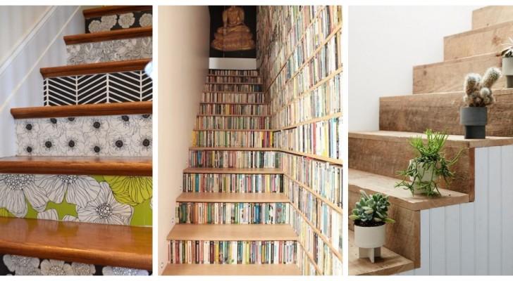 Trasforma le scale in modo unico con queste decorazioni fantasiose