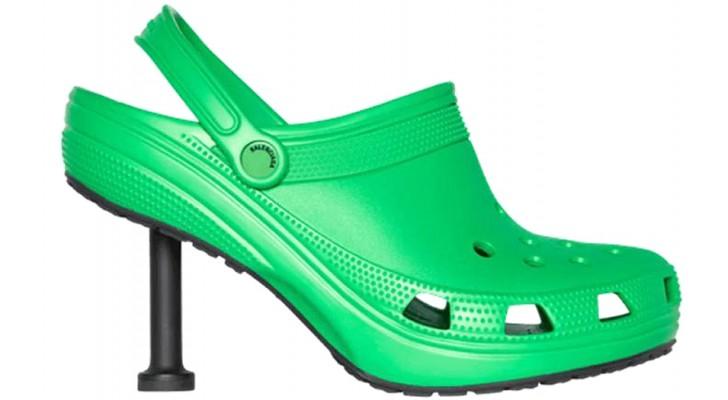 Confortables mais élégantes : Balenciaga lance ses Crocs à talons