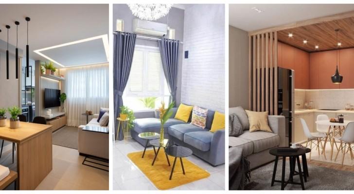Case piccole ma accoglienti: lasciati ispirare da questi progetti d'arredo compatti e moderni