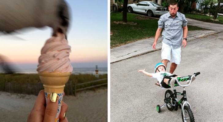 El momento fugaz: 20 fotos tomadas exactamente un segundo antes de un desastre anunciado