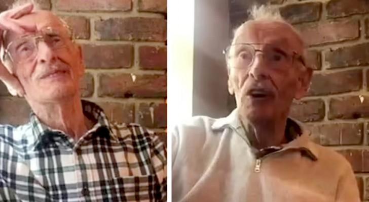 Donano 700 £ ad un anziano vedovo che va ogni giorno a pranzo nello stesso locale: gli vogliono tutti bene