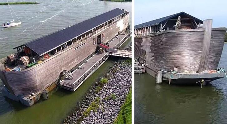 Inghilterra, sequestrata una replica dell'Arca di Noè: non è idonea per navigare