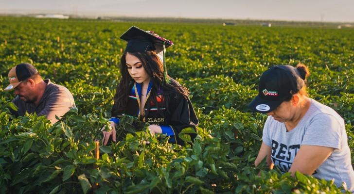 Een studente eert haar ouders door afstudeerfoto's te maken in de landbouwgebieden waar ze werken