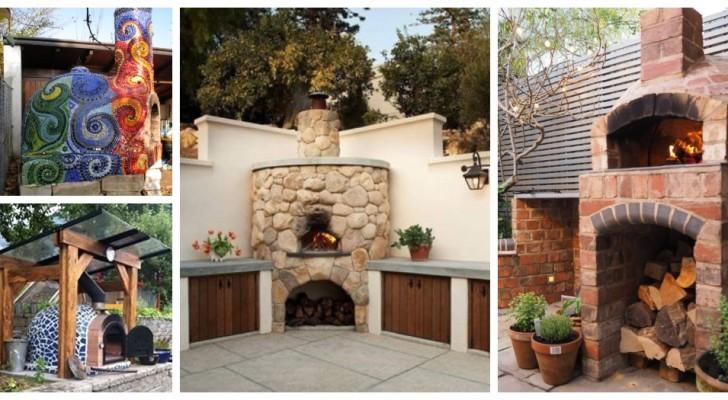 Pizza in giardino? Lasciatevi ispirare da questi fantastici forni a legna fai-da-te