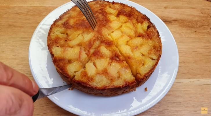 Voglia di torta di mele? Preparala in appena mezz'ora seguendo queste dritte