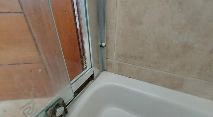 Sporco e muffa nelle guarnizioni della doccia? Scopri come eliminarli col minimo sforzo