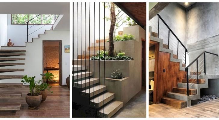 Scale moderne: le idee più belle per un design sofisticato ed elegante