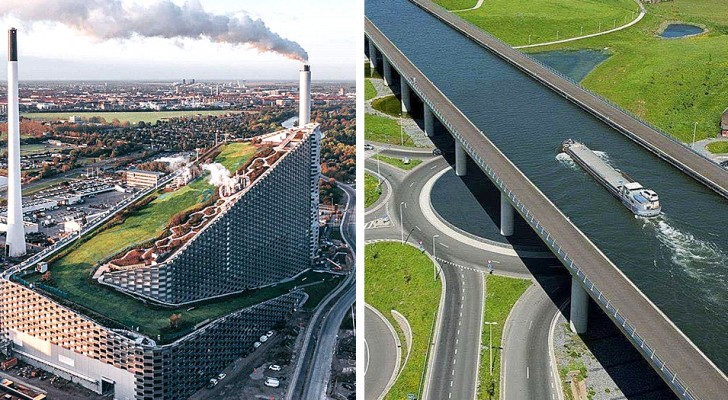 16 infrastrutture incredibili che meriterebbero un premio per praticità e originalità