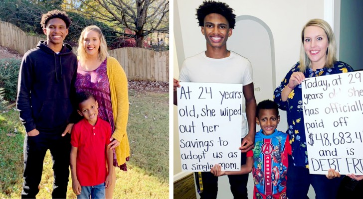 A teacher asks for a loan of $48,000 to adopt one of her pupils along with his younger brother