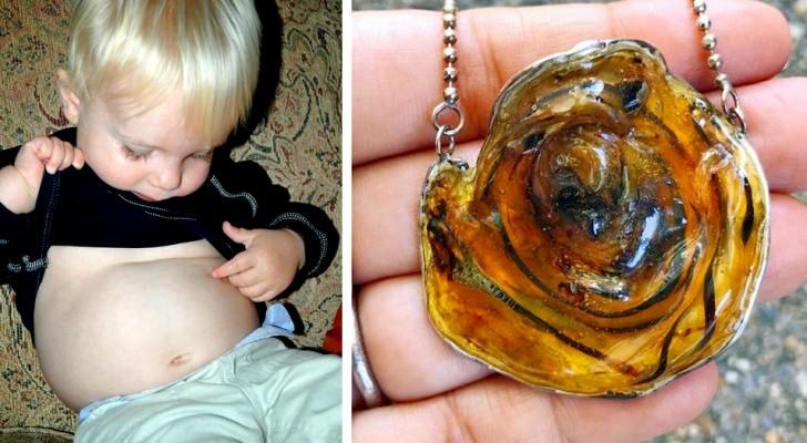 Sommige moeders veranderen de navelstrengen van hun kinderen in armbanden en kettingen