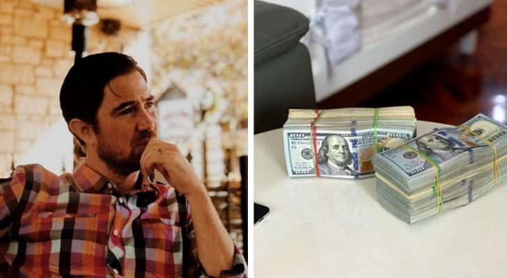Er gewinnt während seiner Scheidung 80 Millionen Dollar im Lotto: die Hälfte davon muss er seiner Ex-Frau geben