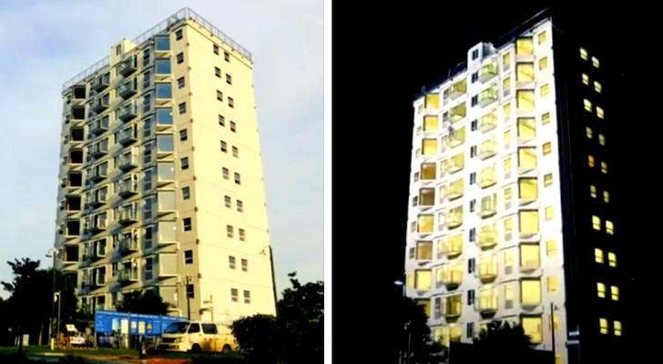 In China wurde ein 10-stöckiges Gebäude in weniger als 29 Stunden gebaut: das ist ein Rekord