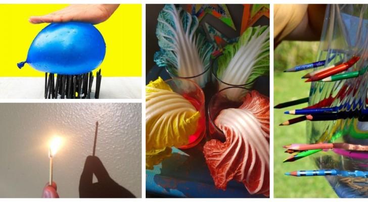 8 expériences scientifiques simples et amusantes à faire à la maison avec les enfants