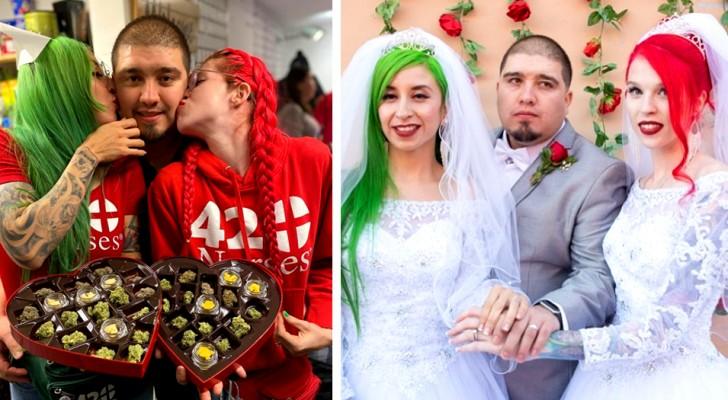 Se casa con ambas mujeres de la cual está enamorado y ahora espera que queden embarazadas contemporáneamente