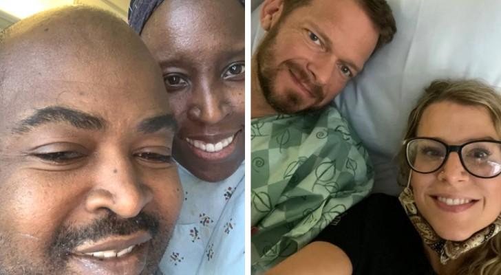 Due colleghe scoprono di poter donare il rene l'una al marito dell'altra e non esitano a salvarli