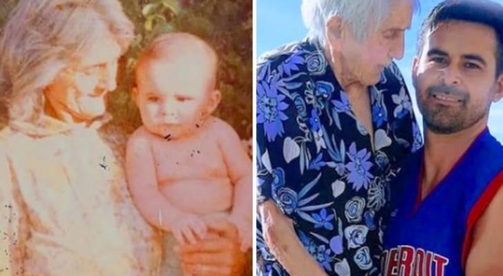 Oma wird 99 und Enkel schenkt ihr ein Foto aus ihrer Kindheit: Du bist das Licht meiner Tage