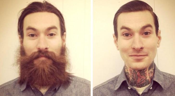 14 hommes qui ont l'air complètement différents après s'être rasés