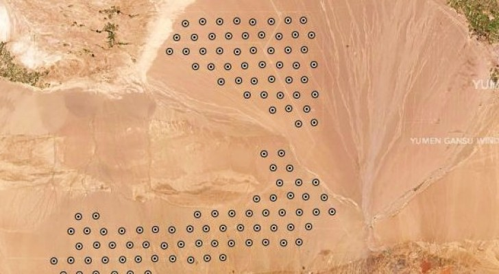 China is begonnen met de bouw van 119 raketsilo's in de woestijn, zo blijkt uit satellietbeelden