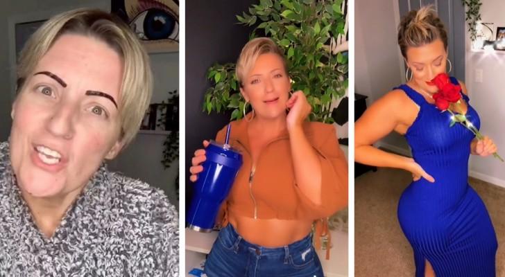 En 40-årig kvinna får kritik för att hon klär sig för ungdomligt: