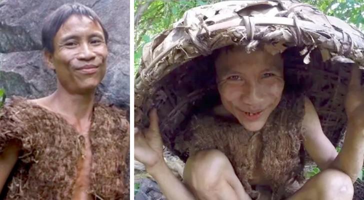 Ha vivido más de 40 años en la jungla lejos de la sociedad: