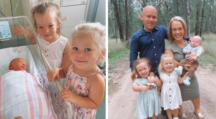 Coppia affetta da nanismo ha tre figli, l'ultimo nasce con un'altezza standard